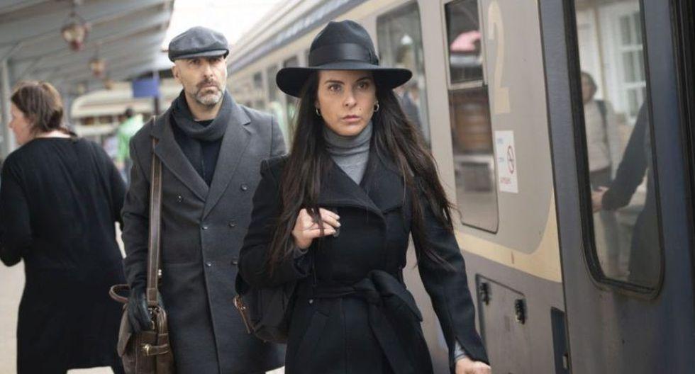 Teresa y Oleg regresan a España para saldar algunas cuentas pendientes y ayudar a las hijas de Teo. (Foto: Telemundo)