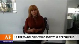 Tigresa del Oriente dio positivo al nuevo coronavirus