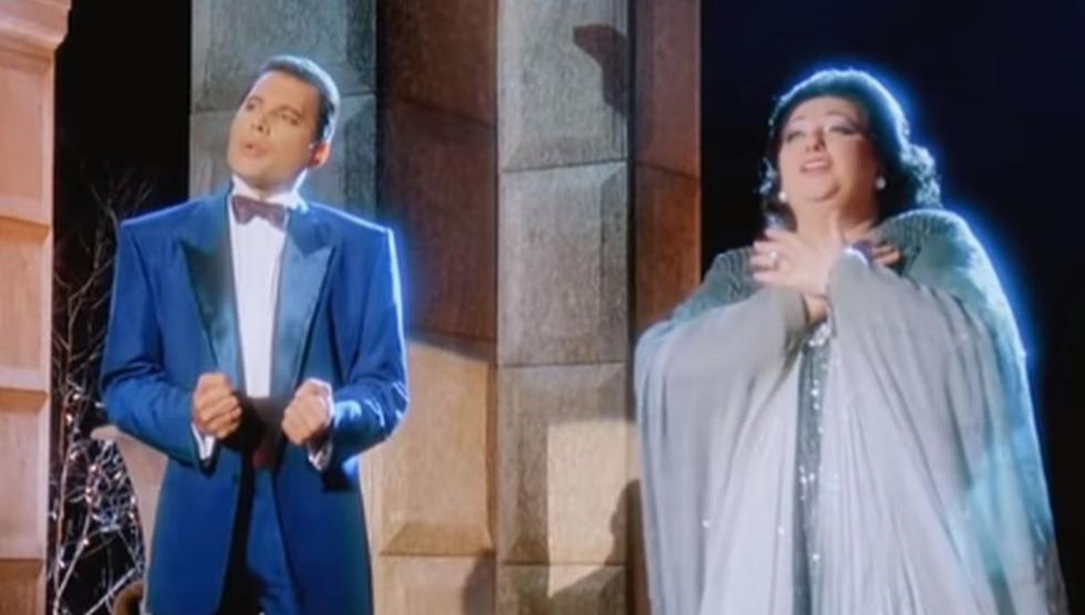 El dúo y su interpretación marcó un hito en la historia de la música. (Foto: Captura)