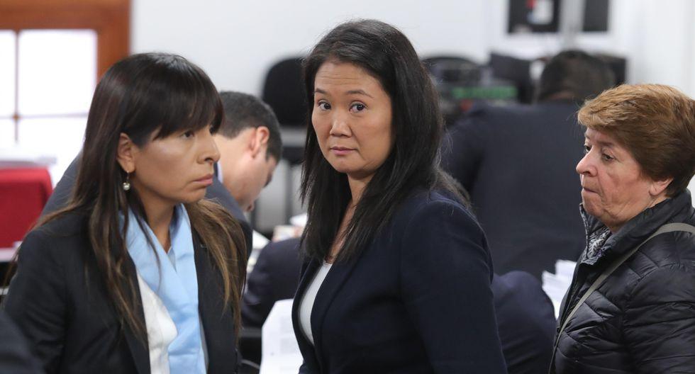 Keiko Fujimori señala que buscan proscribir a FP de participar en las próximas elecciones (GEC).
