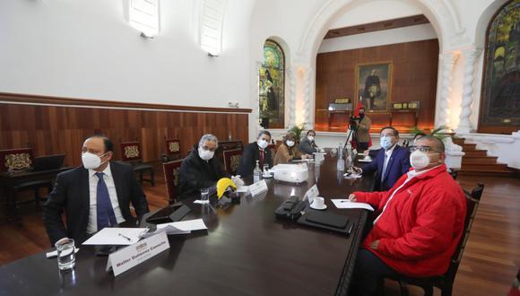 El Consejo de Estado se reúne bajo la conducción del presidente Martín Vizcarra (Foto: Presidencia)