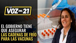 Patricia García: 'El gobierno debe asegurar las cadenas de frío para las vacunas'