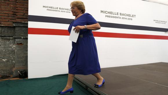ACLARE. Bachelet marca los límites a su coalición y afirma que las decisiones las va a tomar ella. (Reuters)