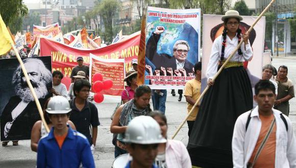 Al acecho. El Movadef defiende postulados que atentan contra el sistema democrático. (David Vexelman)