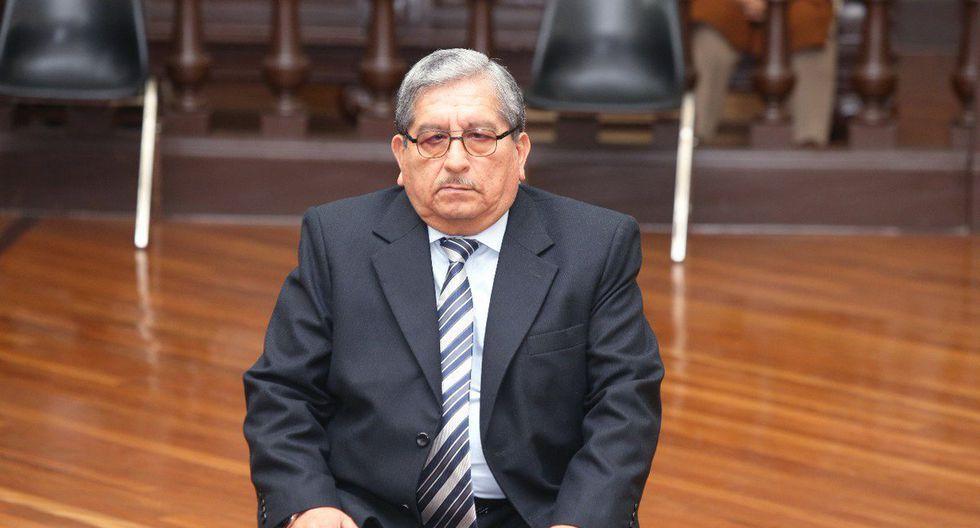 Desde octubre del 2018, Julio Gutiérrez Pebe cumple 18 meses de prisión preventiva. (Foto: Poder Judicial)
