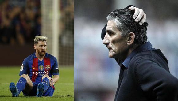 Lionel estaría tres semanas de baja por lesión. (AFP)