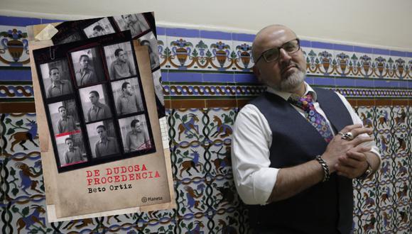 El también columnista de Perú21 presentó su último libro en la Feria Internacional del Libro de Lima 2019. (Perú21/ Piko Tamashiro)