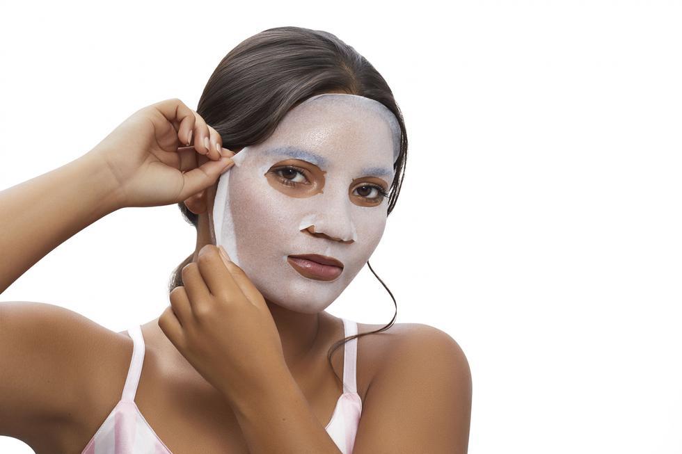 Las funciones de las mascarillas faciales más conocidas son la de hidratación, exfoliación, desimflamantes de la piel e iluminación.(Difusión)