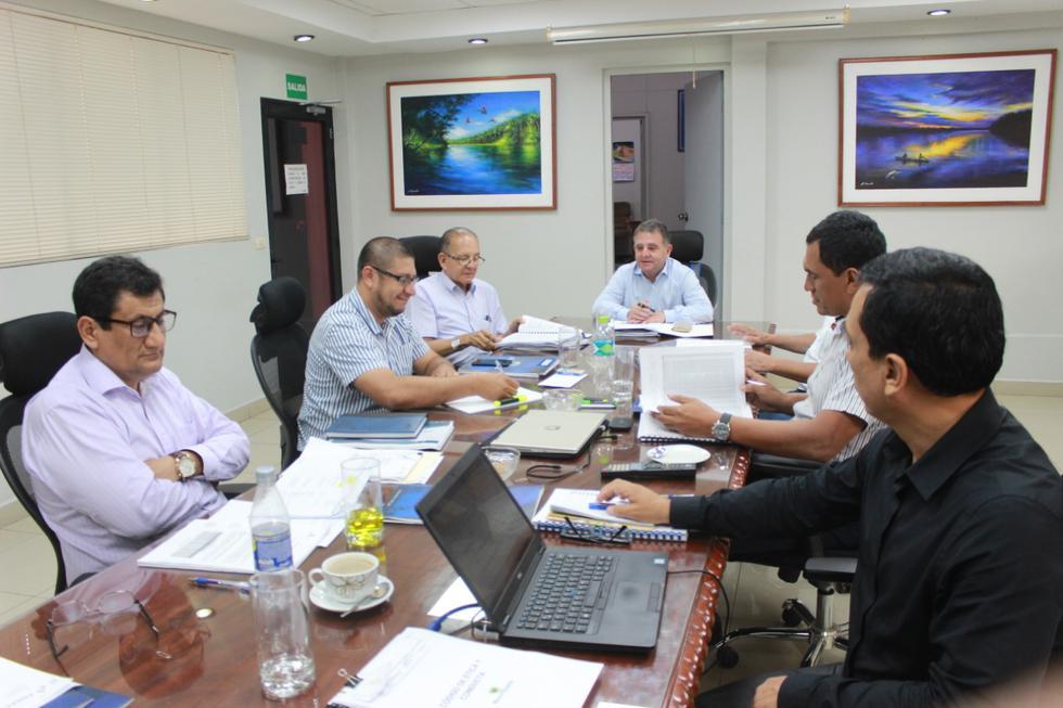 Hoy se llevó a cabo la primera sesión del directorio de Electro Oriente, en el cual se abordó la ejecución de proyectos en zonas rurales. (Fotos: Electro Oriente)