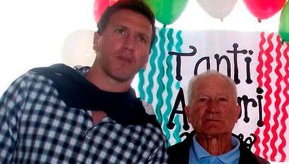 El padre de Flavio Maestri falleció este martes. (Foto: Twitter)