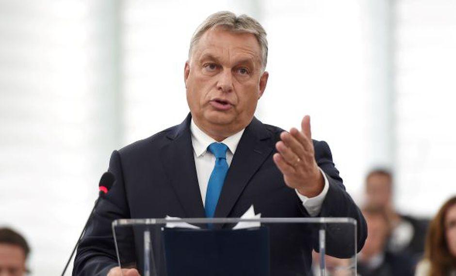 Acusaciones de Orbán contra Alemania se producen tras la decisión del Parlamento Europeo de sancionar a Hungría por la violación del Estado de derecho. (Foto: AFP)