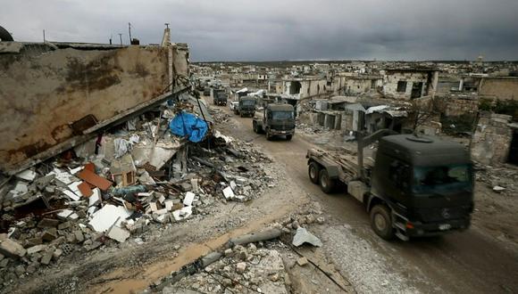 La oposición de Rusia a la adopción de un texto común para exigir el cese de las hostilidades en la región de Idlib recibió el respaldo de China, según diplomáticos. (AFP).