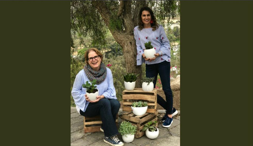 Cristina Puiggrós y Erika Sahurie, socias fundadoras de Entreárboles. (Difusión)