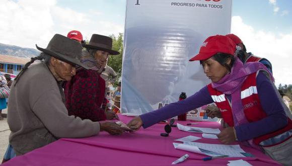 Midis: Programas sociales ayudan a reducir la pobreza. (Difusión)