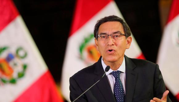 El presidente Martín Vizcarra anunció las medidas. (Foto: GEC)