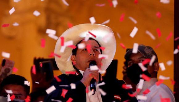 Pedro Castillo fue proclamado presidente electo del Perú el pasado 19 de julio. ( EFE/ Paolo Aguilar).