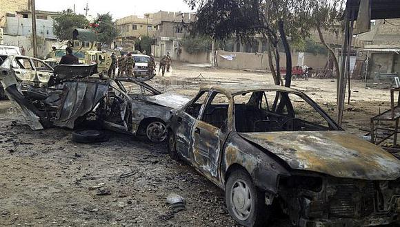 Explosión de coches bomba se produjeron en diversas zonas. (EFE)