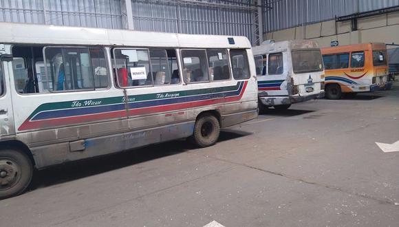 Lima: Más de 6 mil vehículos de transporte fueron enviados al depósito en lo que va del año. (Difusión)