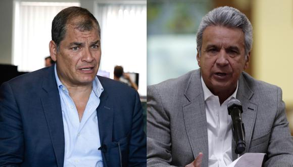 """Correa achacó a """"odios políticos"""" la """"persecución brutal"""" a la que dice le ha sometido Moreno. (Foto: AFP - EFE)"""