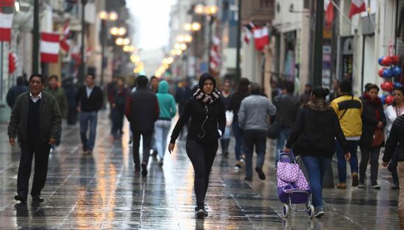La temperatura en Lima Este sería de 19°C. (Foto: GEC)