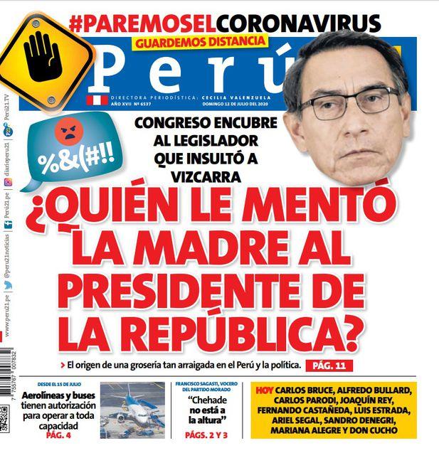 ¿Quién le mentó la madre al presidente de la República?