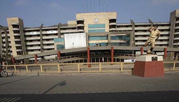 Estadio Monumental ya es propiedad exclusiva de Universitario de Deportes. (Foto: El Comercio)