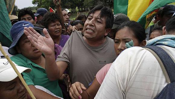 Los parlamentarios se oponen a la construcción de una carretera, que motivó las marchas del año pasado. (Reuters)
