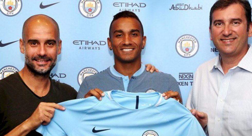 Danilo dejó el Real Madrid y fichó por el Manchester City. (Manchester City)