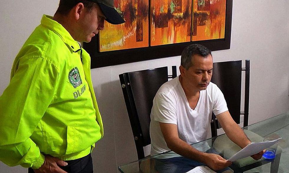 Rodolfo Orellana fue capturado hoy en Colombia. Revisa acá las portadas de Perú21 sobre el caso. (EFE)