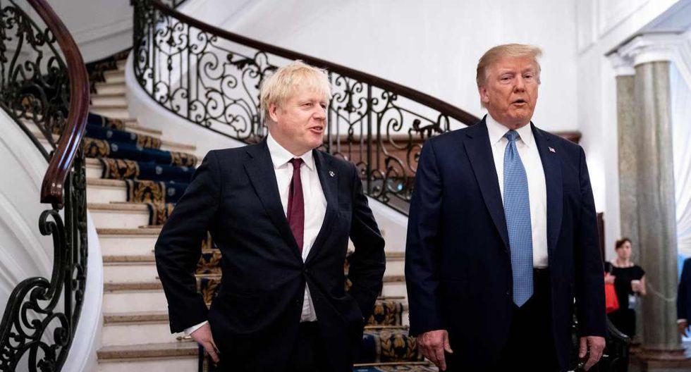 """Boris Johnson advirtió que """"habrá conversaciones duras"""" con Washington, pero resaltó que hay """"enormes oportunidades para el Reino Unido en el mercado estadounidense"""" que actualmente su país no puede aprovechar. (Foto: AFP)"""