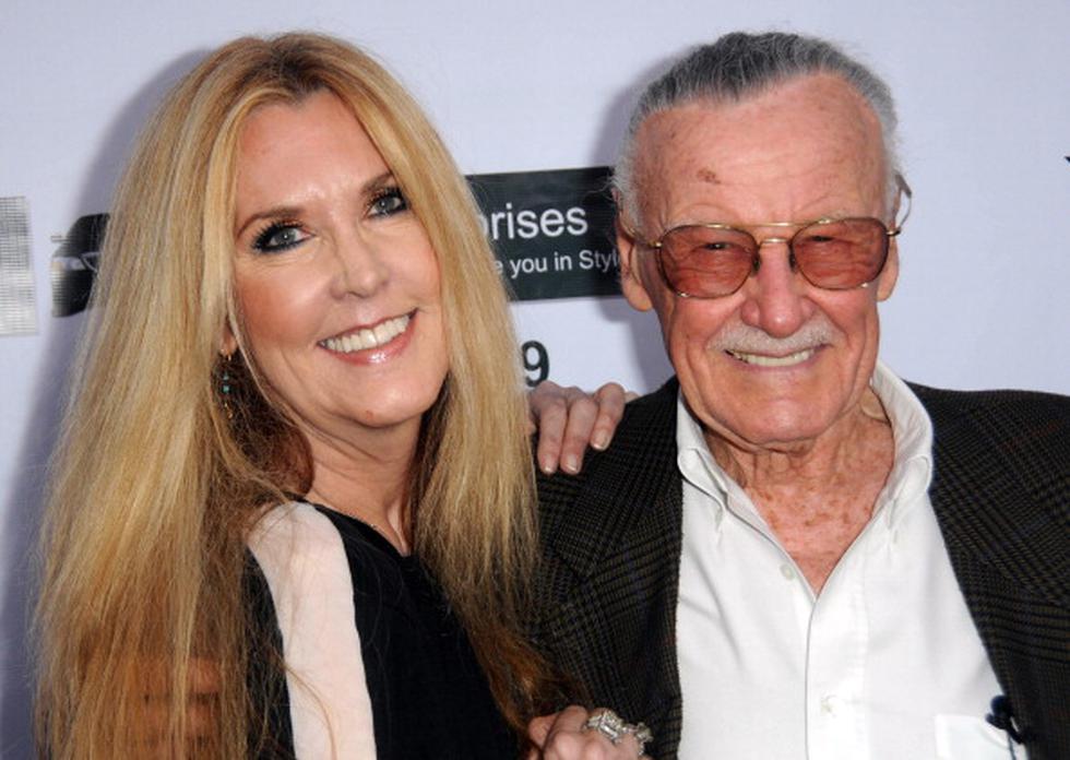 """Hija de Stan Lee a favor de Sony: """"Marvel y Disney deben ser controlados... nunca le han mostrado a él ni a su legado ningún respeto o decencia"""". (Getty)"""