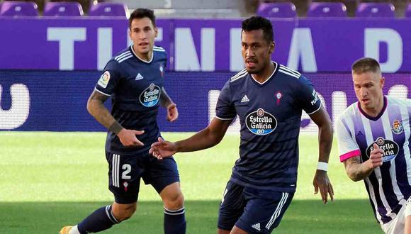 Renato Tapia analizó el reciente resultado de Celta de Vigo. (Foto: EFE)