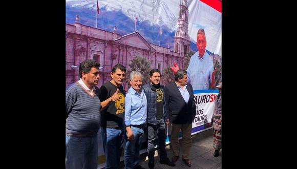Antauristas llaman a participar en diversas protestas del país, como en el caso de Tía María.