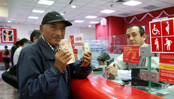 Los aportantes que deseen la devolución de hasta S/ 4.300 de sus aportes deberán presentar una solicitud a la ONP (Foto: Andina)