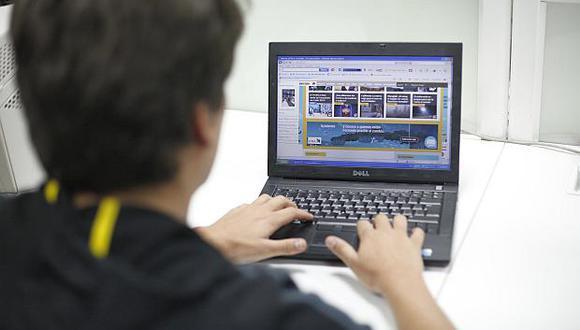 """González Izquierdo: """"Hay que invertir para que el internet llegue al 90% de familias peruanas"""" (Foto referencial: GEC)"""
