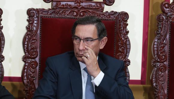¿De donde pecata mía?  Los indicios contra Martín Vizcarra los sustentará el fiscal Juárez este miércoles. (Foto: El Comercio)