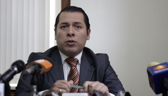 Procurador adjunto anticorrupción, Christian Salas, dio detalles sobre los montos. (Alberto Orbegoso)