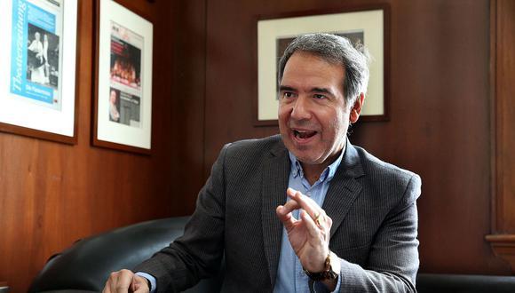 Francisco Petrozzi renunció al Ministerio de Cultura en diciembre de 2019 tras permanecer dos meses en el cargo. (Foto: GEC)