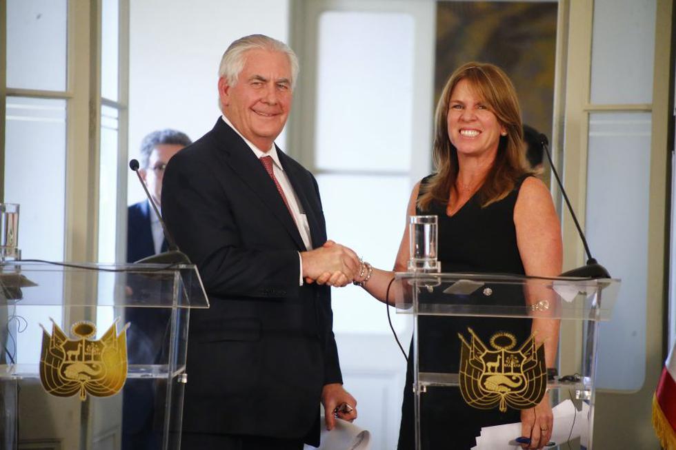 Han pasado diez años desde la última visita de un secretario de Estado norteamericano a nuestro país. (Luis Centurión/Perú21)