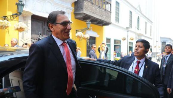Martín Vizcarra visita el Instituto de Salud del Niño y reitera compromiso por mejorar salud y educación (Presidencia)