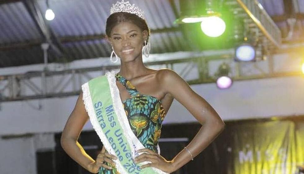 Marie Esther Bangura, representante de Sierra Leona en el Miss Universo 2018. (Foto: @misssierraleona)