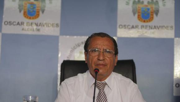 Óscar Benavides preside reunión de alcaldes. (Perú21)