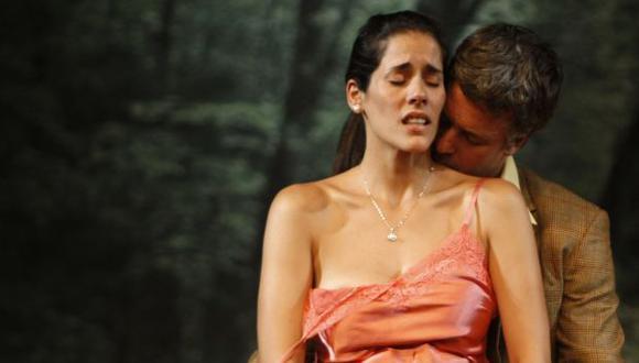 Mañana debuta con Diego Bertie en la obra El próximo año. (Luis Gonzáles)