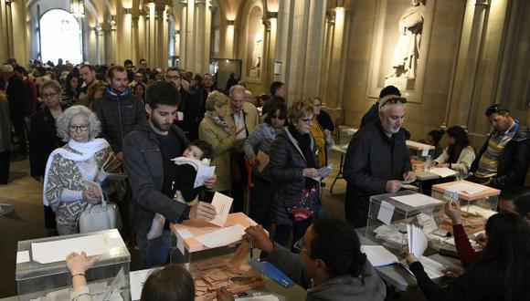 Una vez más en las urnas. (Foto: AFP)