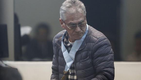 Alfredo Crespo, uno de los principales dirigentes del Movadef, fue absuelto por la Sala Penal Naciona. (Foto: GEC)