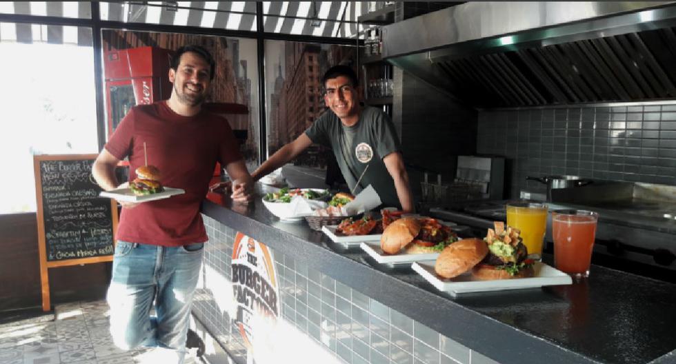 Emprendedor21: The Burger Factory, puro sabor artesanal