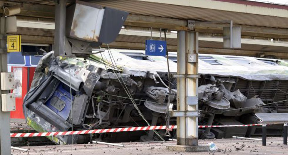 Impacto. El accidente ocurrió a 40 kilómetros al sur de París. (AFP)