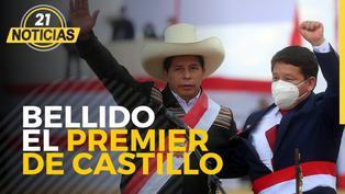 Guido Bellido es el Premier de Pedro Castillo