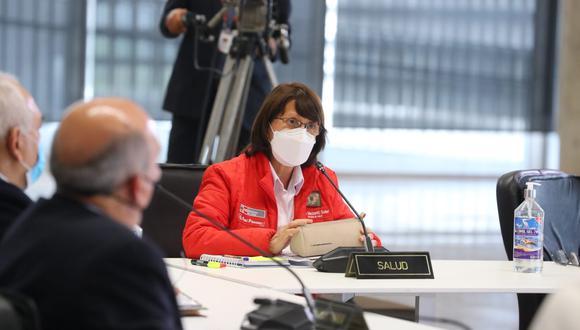 Ministra Pilar Mazzetti. (GEC)