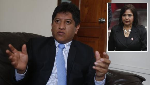 Josué Gutiérrez se pronunció sobre declaraciones de sus colegas. (Martín Pauca/César Fajardo)
